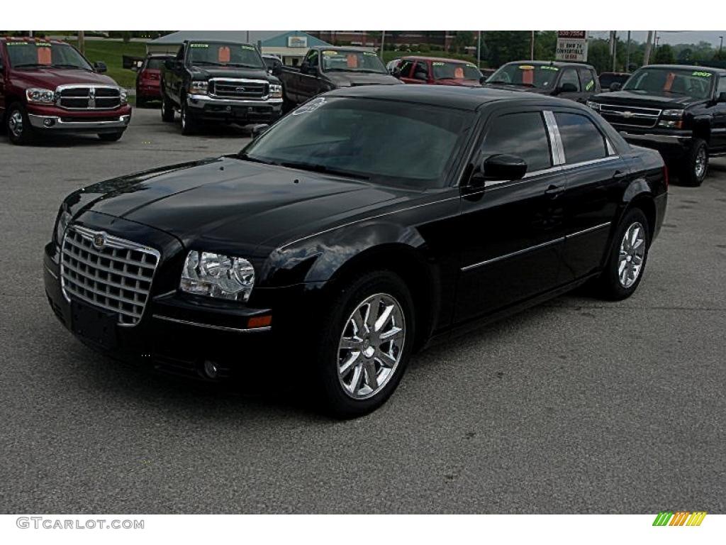 2007 brilliant black chrysler 300 limited 30367960 car color galleries. Black Bedroom Furniture Sets. Home Design Ideas