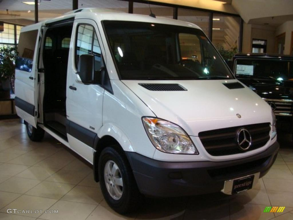 2010 arctic white mercedes benz sprinter 2500 passenger for 2010 mercedes benz 2500