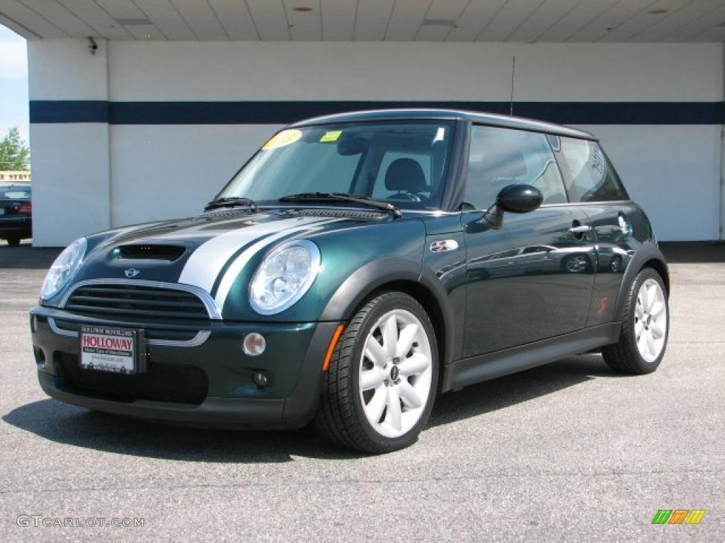 2003 british racing green metallic mini cooper s hardtop 30367705 car color. Black Bedroom Furniture Sets. Home Design Ideas