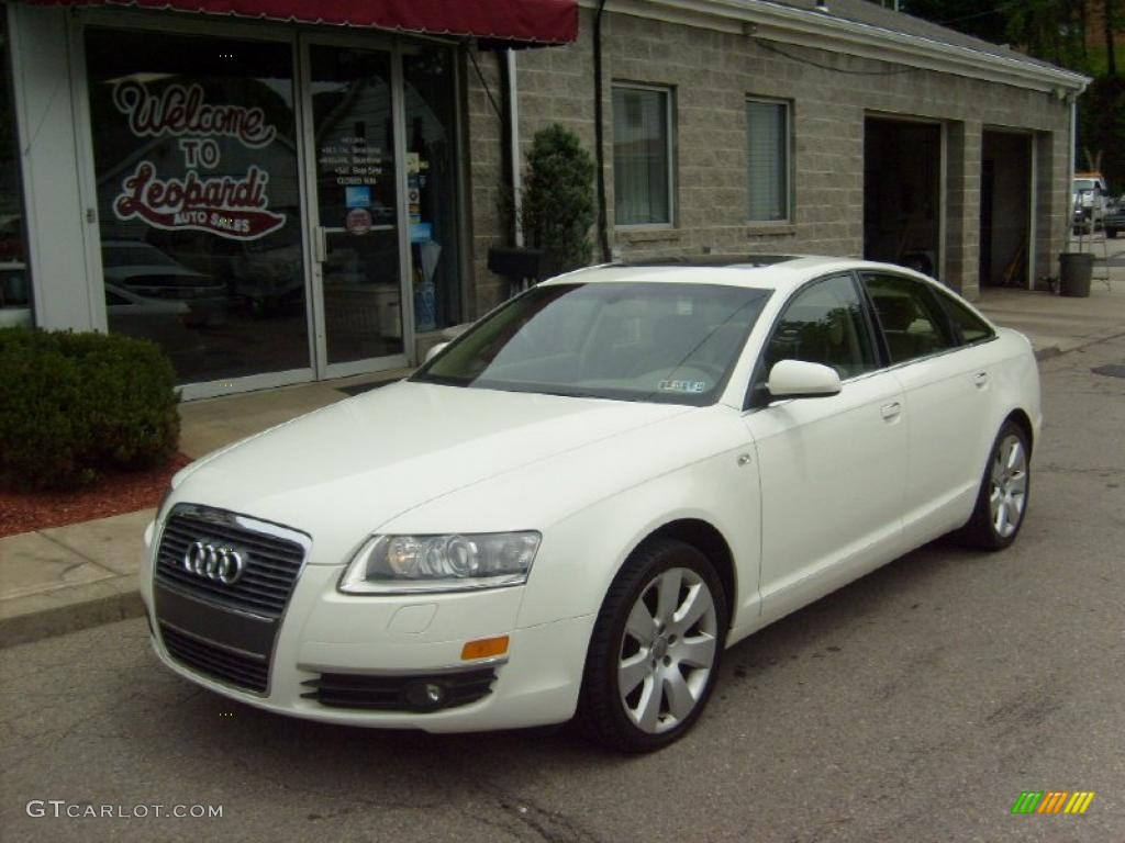 2005 arctic white audi a6 3 2 quattro sedan 30367734 car color galleries. Black Bedroom Furniture Sets. Home Design Ideas
