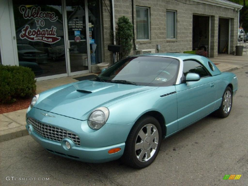 2002 thunderbird blue ford thunderbird premium roadster 30367741 photo 3. Cars Review. Best American Auto & Cars Review