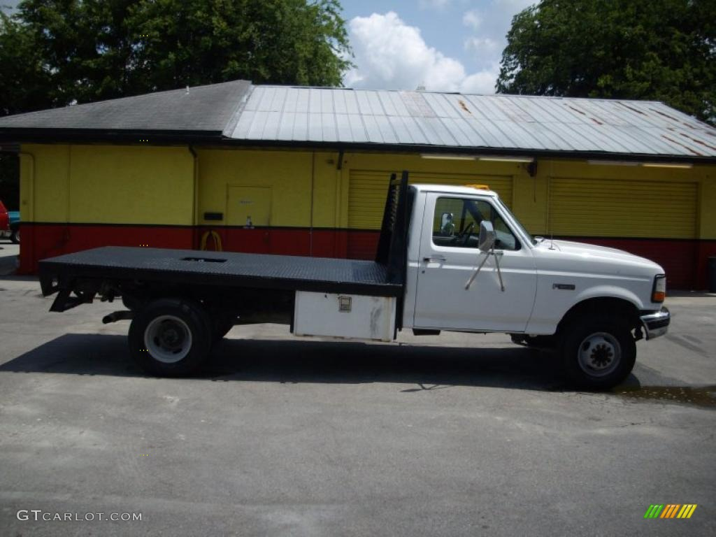 1997 Oxford White Ford F350 Xl Regular Cab Dually Chassis Flat Bed 30367762 Photo 2 Gtcarlot Com Car Color Galleries