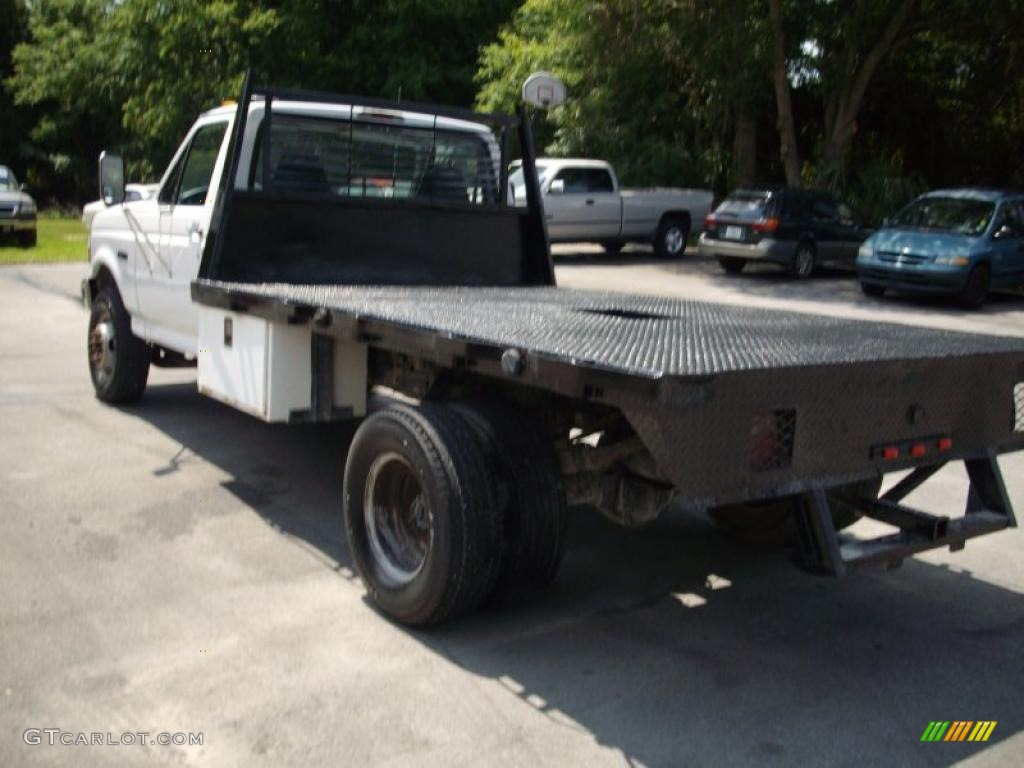 1997 Oxford White Ford F350 Xl Regular Cab Dually Chassis Flat Bed 30367762 Photo 5 Gtcarlot Com Car Color Galleries