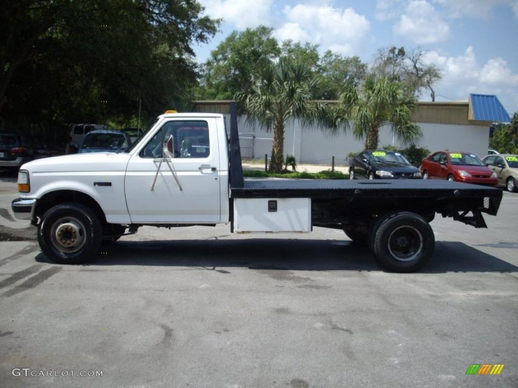 1997 Oxford White Ford F350 Xl Regular Cab Dually Chassis Flat Bed 30367762 Photo 6 Gtcarlot Com Car Color Galleries