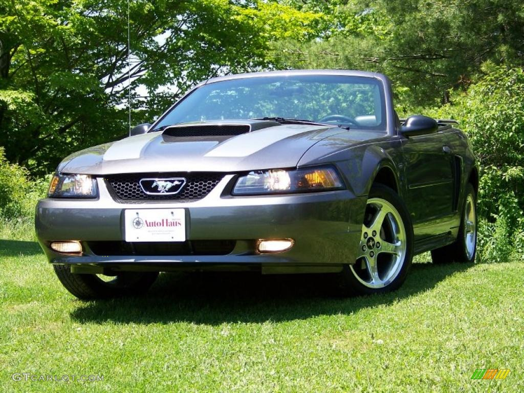 2003 dark shadow grey metallic ford mustang gt convertible 30367857 car color. Black Bedroom Furniture Sets. Home Design Ideas
