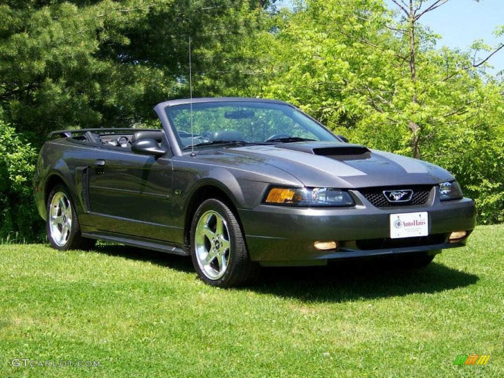2003 dark shadow grey metallic ford mustang gt convertible 30367857 photo 3. Black Bedroom Furniture Sets. Home Design Ideas