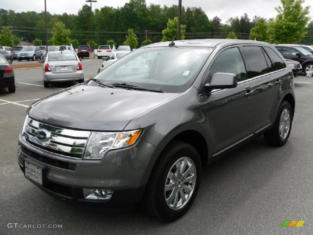 Sterling Grey Metallic Ford Edge
