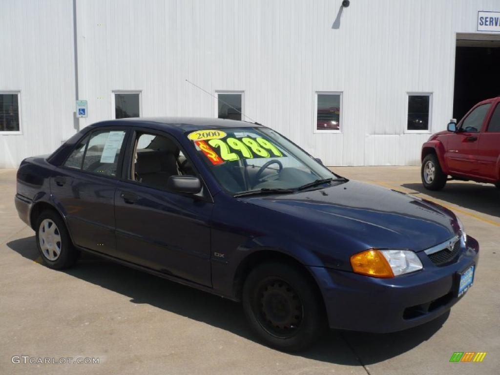Midnight Blue Mica Mazda Protege. Mazda Protege LX