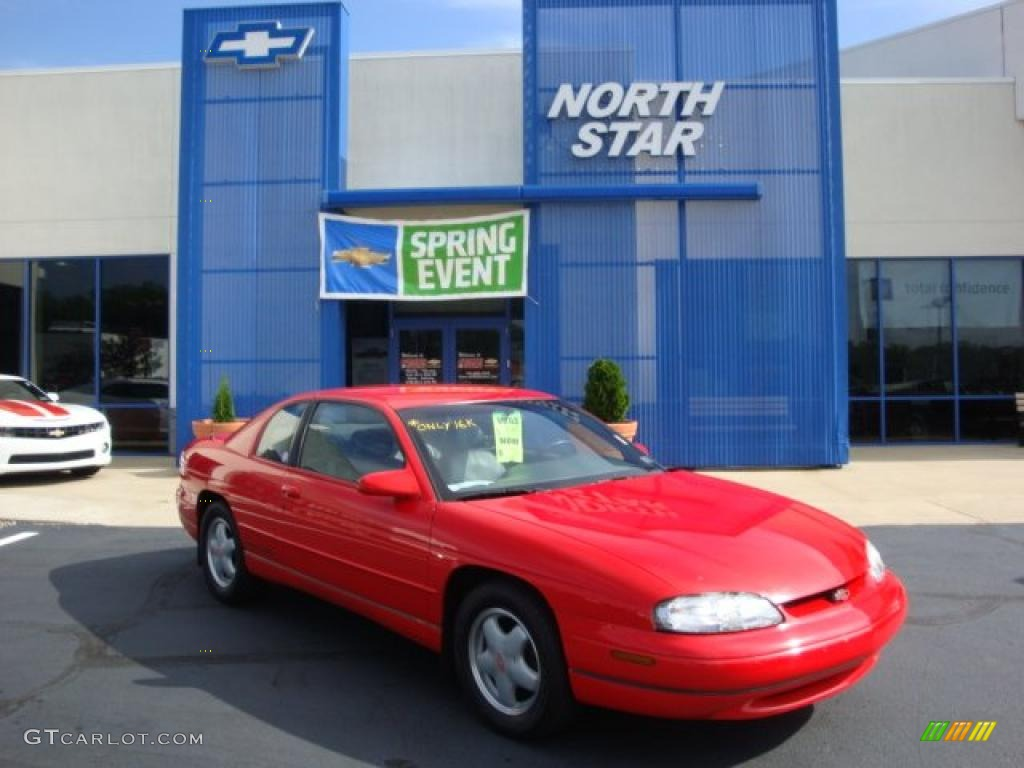 1995 torch red chevrolet monte carlo z34 coupe 30432195 gtcarlot com car color galleries gtcarlot com