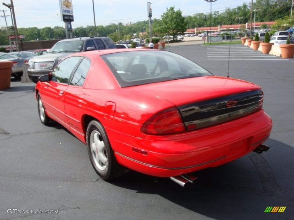 1995 torch red chevrolet monte carlo z34 coupe 30432195 photo 5 gtcarlot com car color galleries gtcarlot com