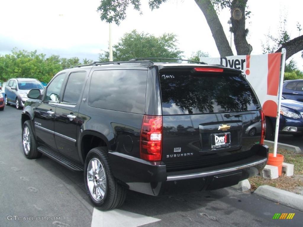 2010 suburban ltz black granite metallic light titanium dark titanium photo 4
