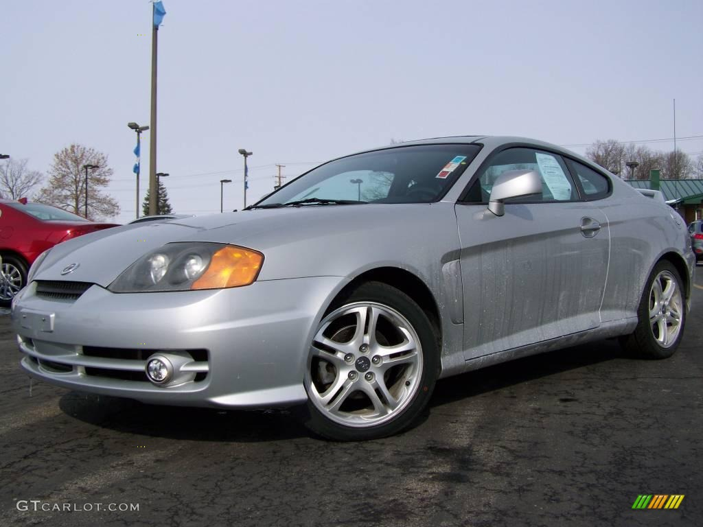 2003 super silver hyundai tiburon gt v6 2974188. Black Bedroom Furniture Sets. Home Design Ideas