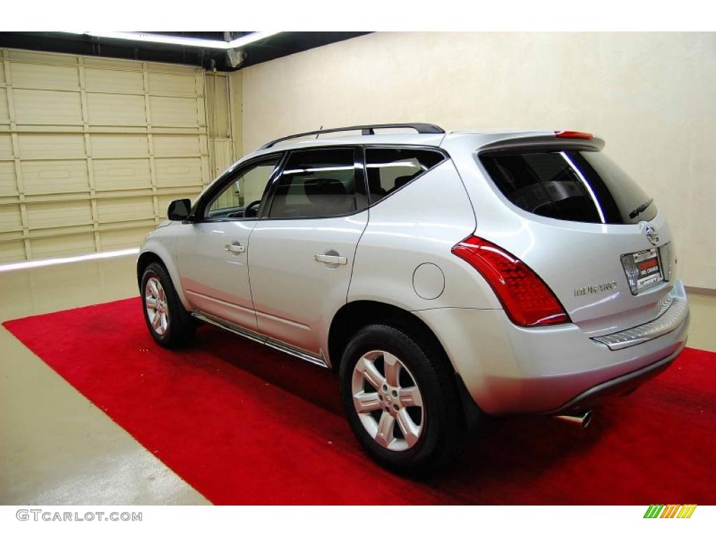 2007 Murano SL - Brilliant Silver Metallic / Charcoal photo #4