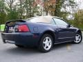 2003 True Blue Metallic Ford Mustang V6 Convertible  photo #4