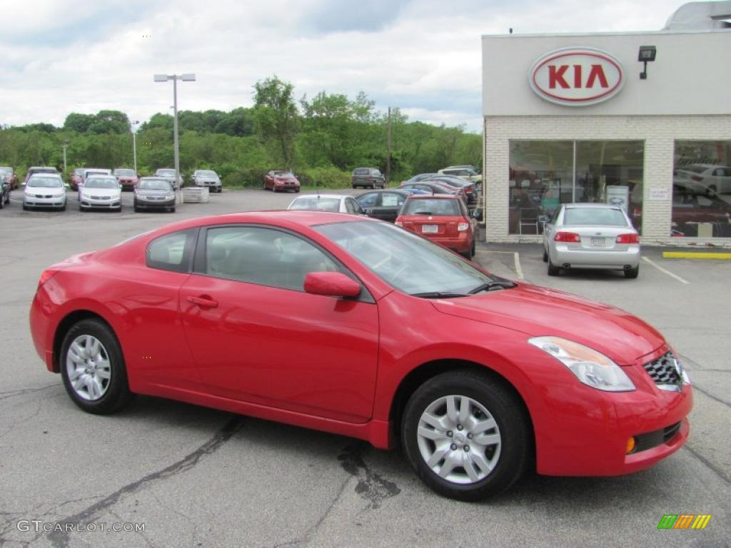 2009 nissan altima coupe red image gallery hcpr 2009 altima 25 s coupe code red metallic blond photo 1 custom mint nissan vanachro Image collections
