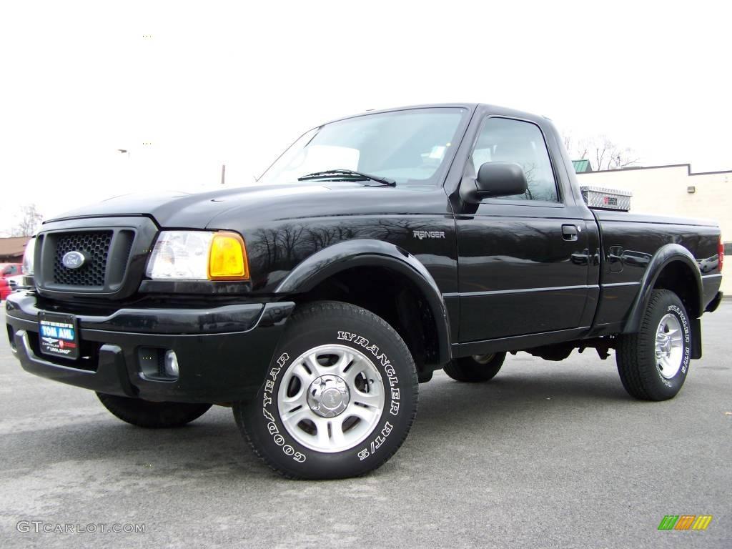 Black ford ranger