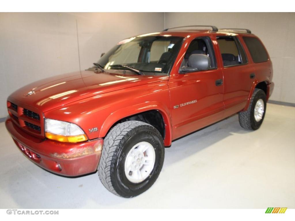 1999 chili pepper red pearlcoat dodge durango slt 4x4 30484660 photo 3 car. Black Bedroom Furniture Sets. Home Design Ideas
