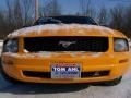 2007 Grabber Orange Ford Mustang V6 Deluxe Convertible  photo #3