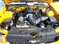 2007 Grabber Orange Ford Mustang V6 Deluxe Convertible  photo #13