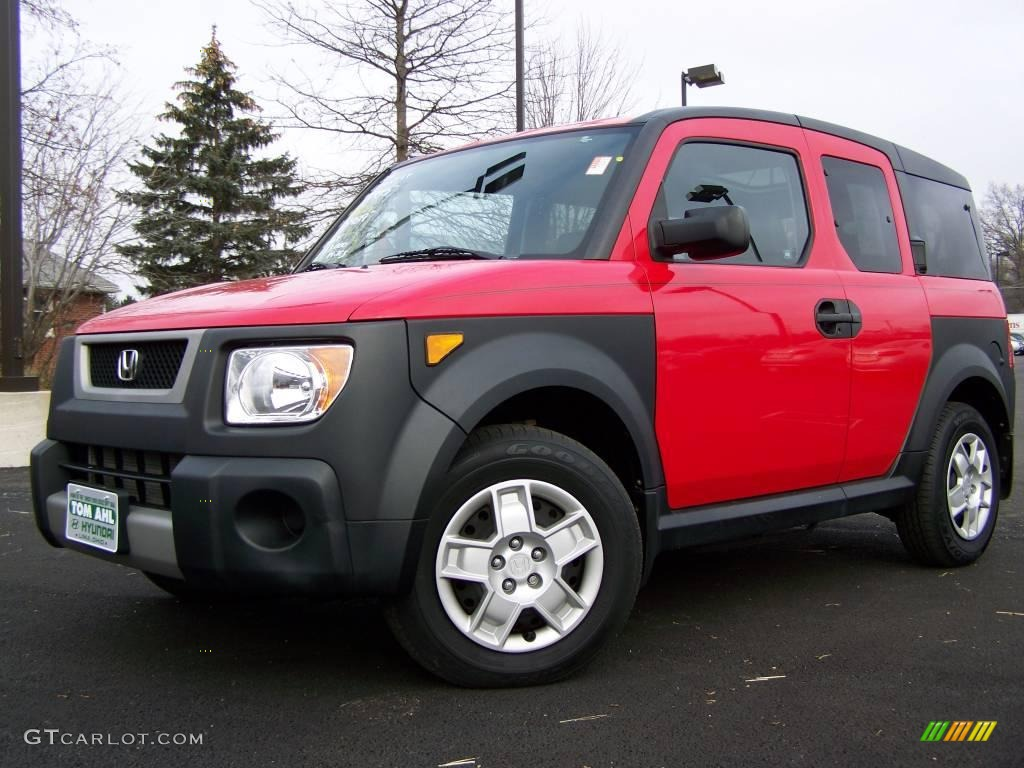 2006 rallye red honda element lx 2974166. Black Bedroom Furniture Sets. Home Design Ideas