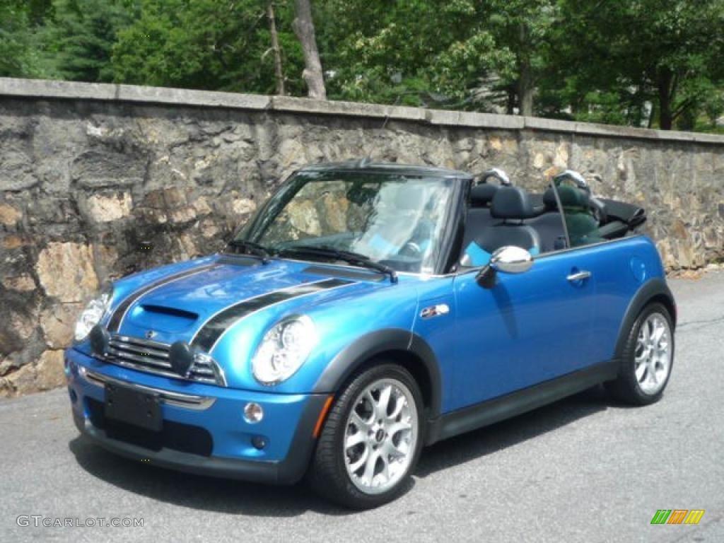 2008 Laser Blue Metallic Mini Cooper S Convertible 30484718
