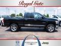 2008 Brilliant Black Crystal Pearl Dodge Ram 1500 Big Horn Edition Quad Cab 4x4  photo #1