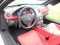 2009 SLR 300SL Red Interior