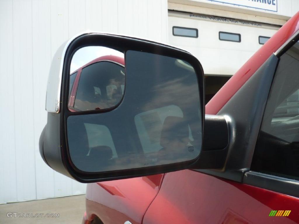 2007 Ram 3500 Laramie Quad Cab 4x4 - Inferno Red Crystal Pearl / Medium Slate Gray photo #18
