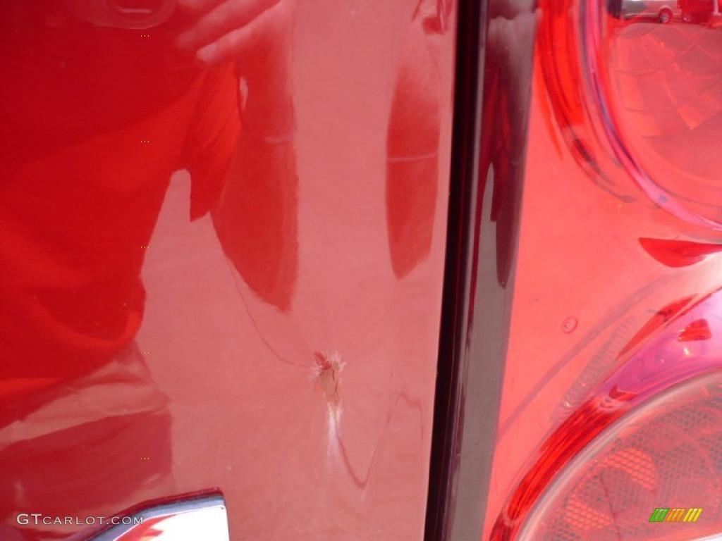 2007 Ram 3500 Laramie Quad Cab 4x4 - Inferno Red Crystal Pearl / Medium Slate Gray photo #25