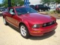 2007 Redfire Metallic Ford Mustang V6 Premium Coupe  photo #7