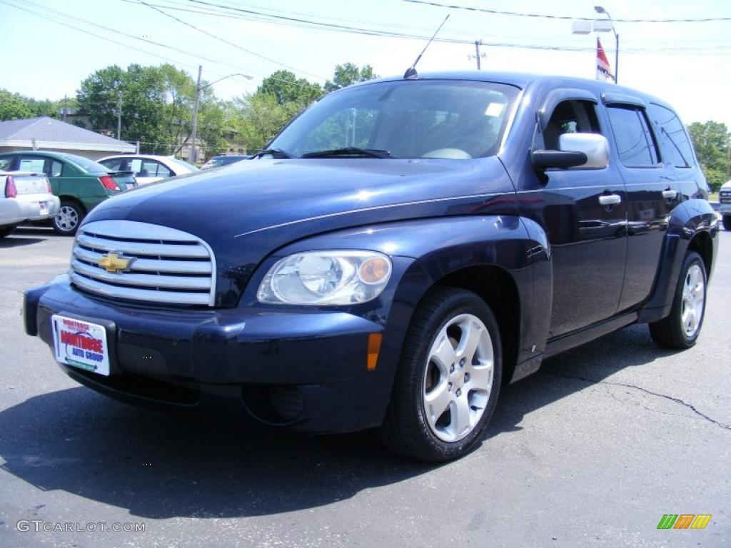 2007 Imperial Blue Metallic Chevrolet Hhr Lt 30543672 Gtcarlot