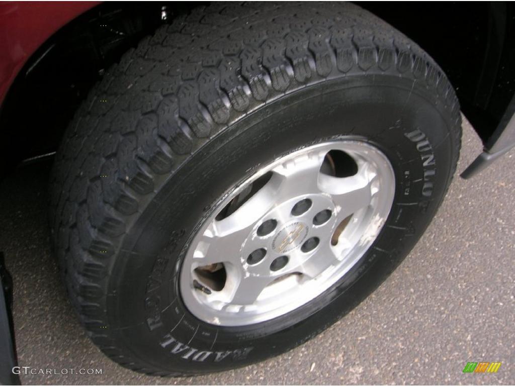 2000 Silverado 1500 Z71 Extended Cab 4x4 - Dark Carmine Red Metallic / Graphite photo #5