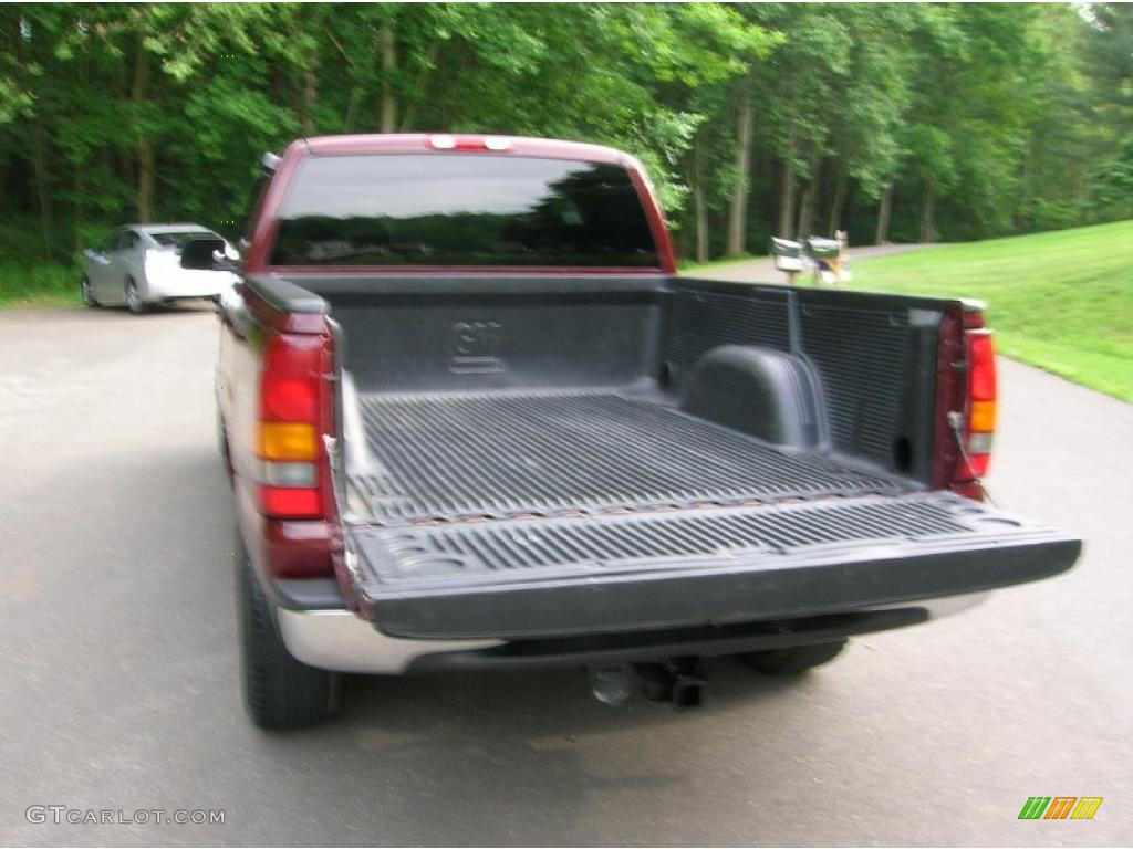2000 Silverado 1500 Z71 Extended Cab 4x4 - Dark Carmine Red Metallic / Graphite photo #6