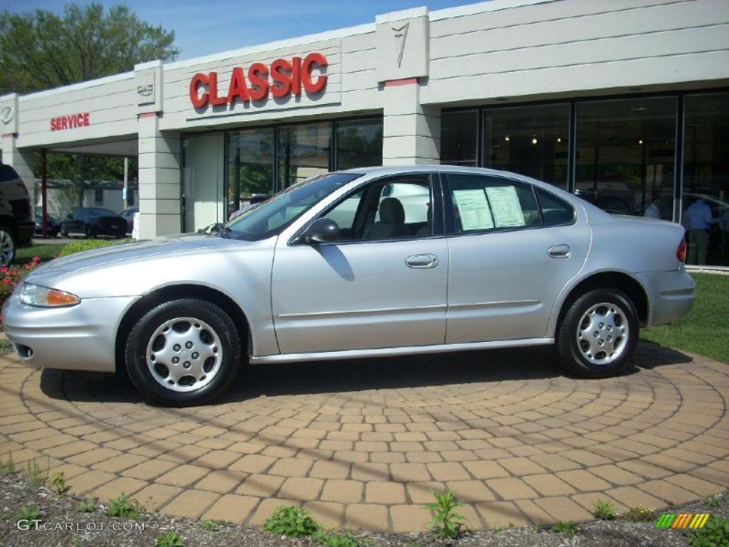 Sterling silver metallic oldsmobile alero