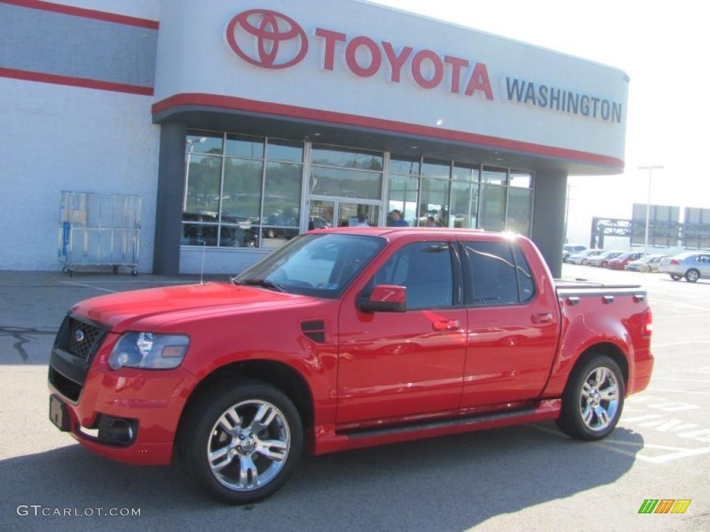 2008 colorado red ford explorer sport trac adrenalin 4x4 30543924 car color. Black Bedroom Furniture Sets. Home Design Ideas