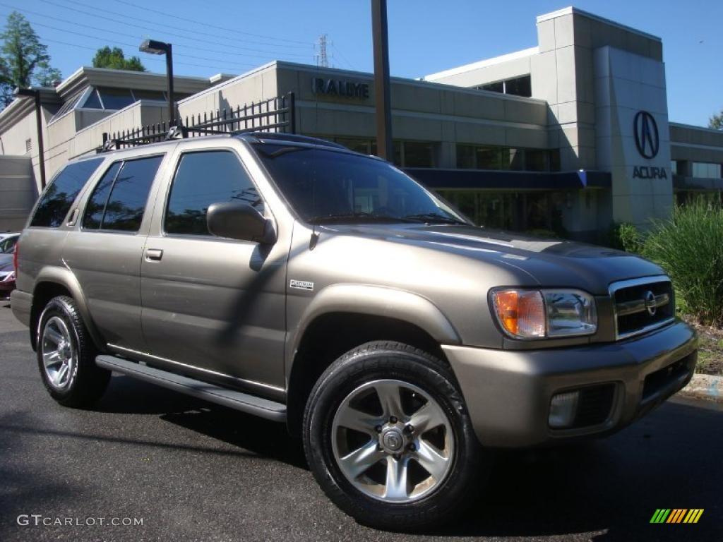 2004 Polished Pewter Metallic Nissan Pathfinder Le Platinum 4x4 30543933 Car