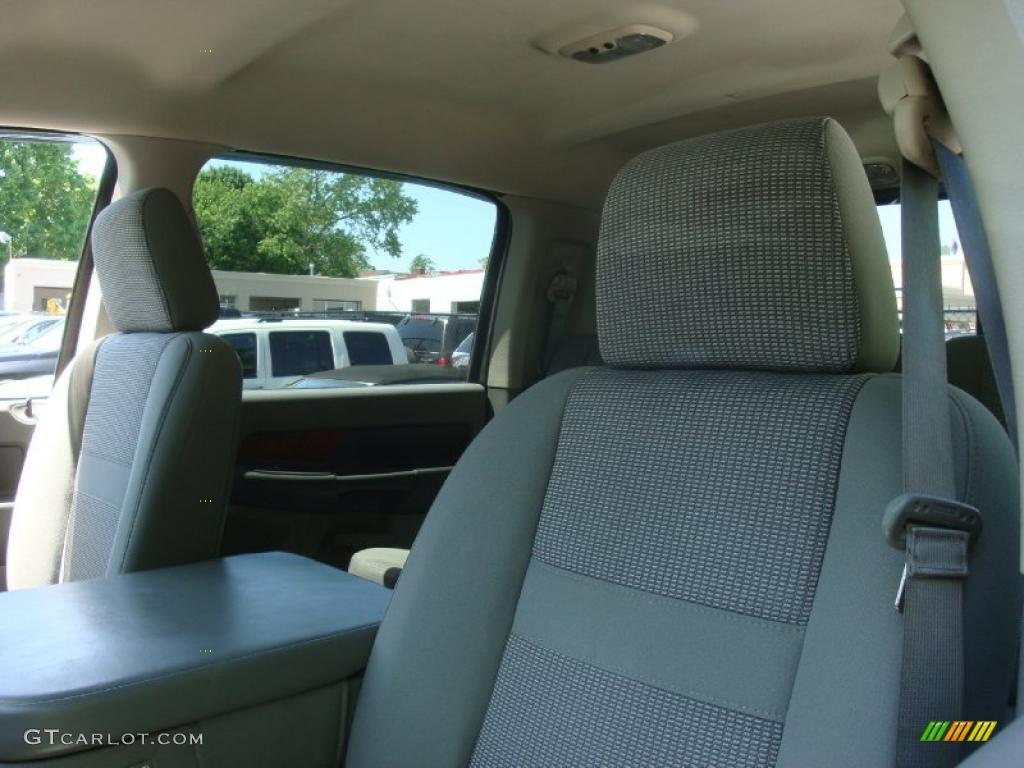 2006 Ram 1500 SLT Mega Cab 4x4 - Mineral Gray Metallic / Medium Slate Gray photo #8