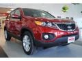 2011 Spicy Red Kia Sorento EX AWD  photo #10