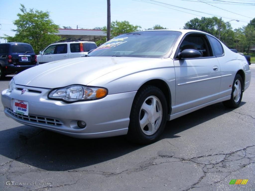 2004 Galaxy Silver Metallic Chevrolet Monte Carlo Ss 30598550 04 Cbr 600rr Wiring Diagram