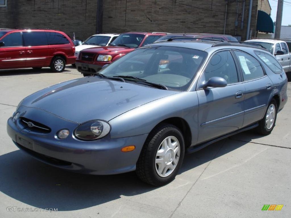 1999 graphite blue metallic ford taurus se wagon 30598759. Black Bedroom Furniture Sets. Home Design Ideas