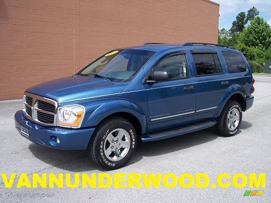 2005 atlantic blue pearl dodge durango limited 30598562. Black Bedroom Furniture Sets. Home Design Ideas
