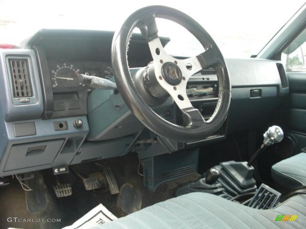 1990 Winter Blue Metallic Nissan Hardbody Truck Regular