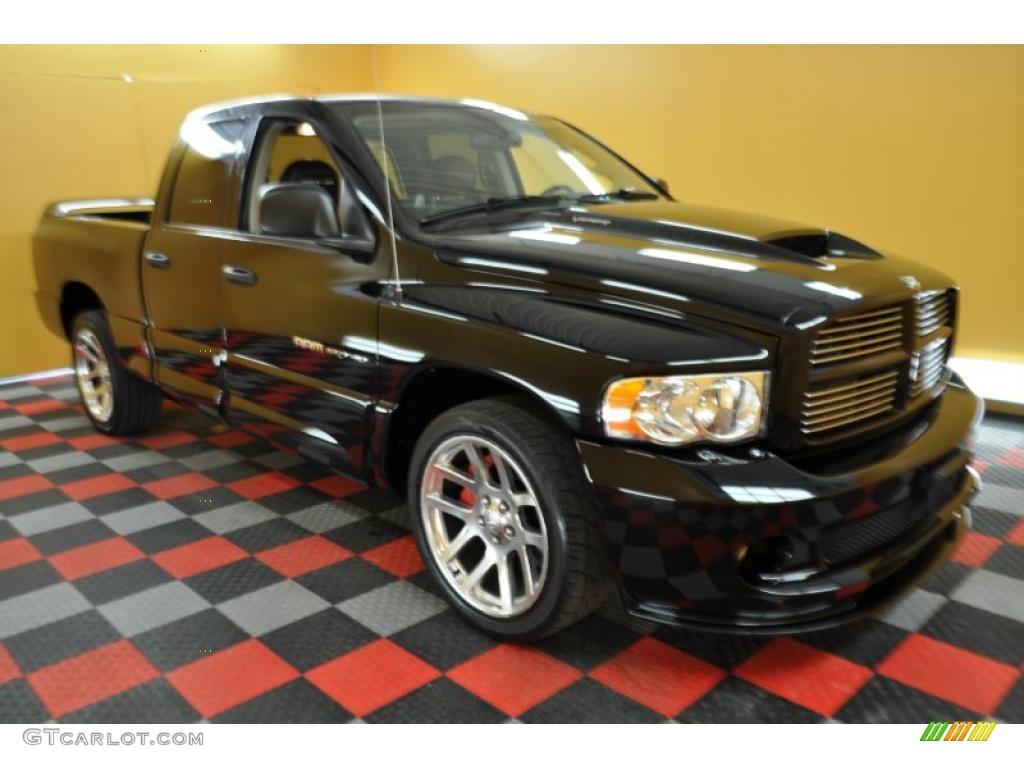 2005 Black Dodge Ram 1500 Srt 10 Quad Cab 30598797 Gtcarlot Com Car Color Galleries