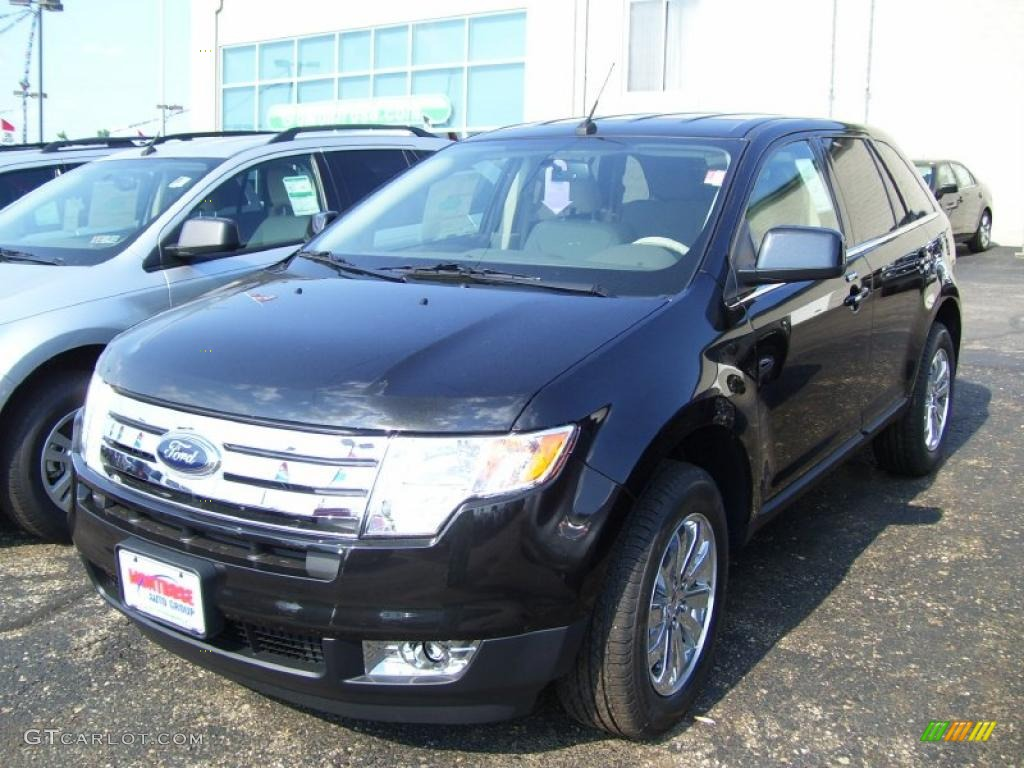 2010 tuxedo black metallic ford edge limited 30616235. Black Bedroom Furniture Sets. Home Design Ideas