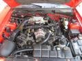 2000 Performance Red Ford Mustang GT Convertible  photo #7