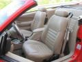 2000 Performance Red Ford Mustang GT Convertible  photo #8