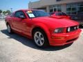 2007 Torch Red Ford Mustang GT Premium Coupe  photo #2