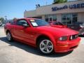 2007 Torch Red Ford Mustang GT Premium Coupe  photo #23