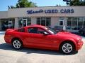 2007 Torch Red Ford Mustang GT Premium Coupe  photo #31