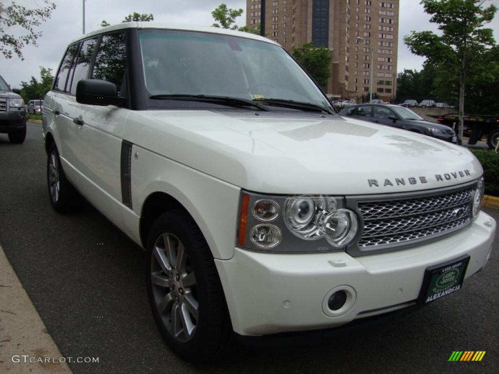 2008 Alaska White Land Rover Range Rover V8 Supercharged 30616980 Photo 8 Car